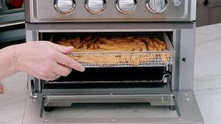Air Fryer Toaster Oven Demo Video Icon Toaster Oven Recipes