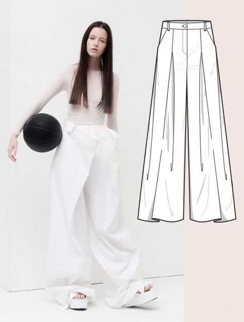 See the new forecasting fashion trends about Bourgeoise, Flamboyant, Impression, Survivalist Womenswear Development Trousers & Skirts , Fashion & Product development ai CAD with