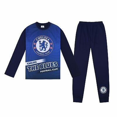 Chelsea Football Club Official Soccer Gift Boys Kids Short Pajamas
