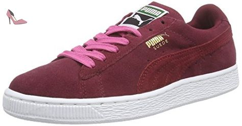 puma suede femme rouge