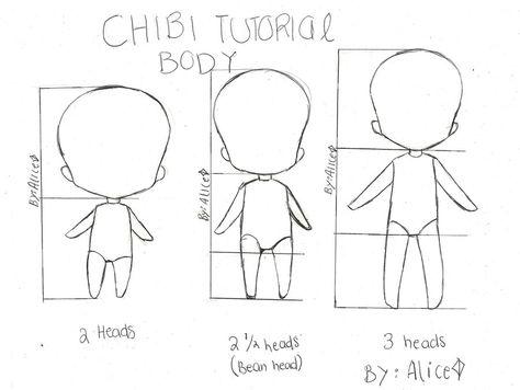 chibi mini tutorial two by punkAliceRose.deviantart.com on @deviantART