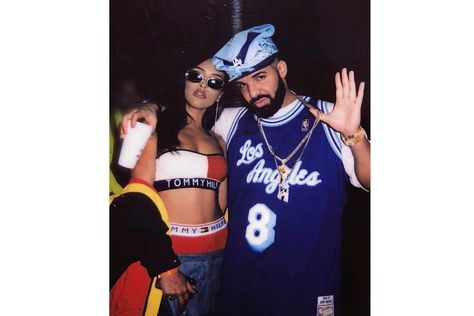 Drake Throws 2000s-Themed 32nd Birthday Party drizzy ovo october's very own