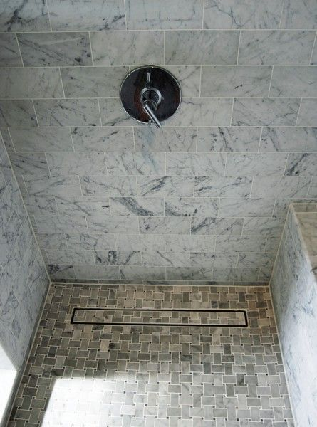 Linear Shower Floor Drain With Stylish Luxe Linear Drains For