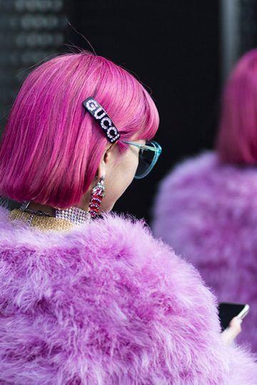96dc822da32 Brown crystal logo hair comb in 2019 | fashion | Hair comb, Hair ...