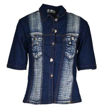 Jeansowa Odziez Damska Strona 26 Allegro Pl Wiecej Niz Aukcje Najlepsze Oferty Na Najwiekszej Platformie Handlowej Fashion Denim Jacket Denim