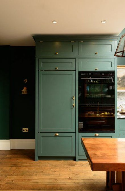 Kitchen Dark Green Walls White Cabinets 62 Ideas For 2019 Dark Green Kitchen Green Kitchen Cabinets Green Kitchen Walls