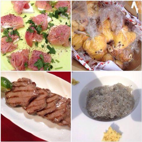 友達&家族でパーティ料理に参加中 - 逗子で海鮮BBQ                                                         生ハムとモッツァレラの炙り