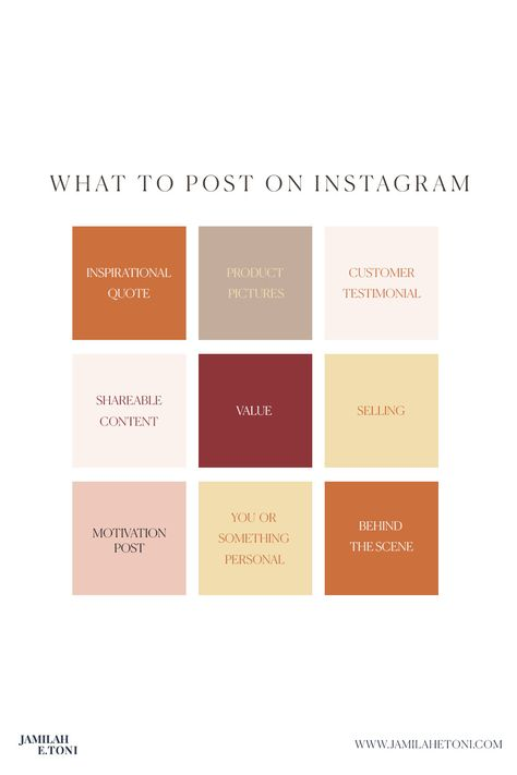 HOW TO PLAN OUT YOUR INSTAGRAM GRID 📲 - Tips for Social media⠀⠀⠀⠀⠀⠀⠀⠀