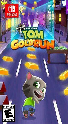 Talking Tom Gold Run For Nintendo Switch Talking Tom Toms Talk