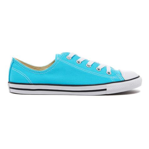 31990f068528 Converse Women s Chuck Taylor All Star Dainty Trainers - Fresh... ( 55) ❤  liked on Polyvore featuring shoes