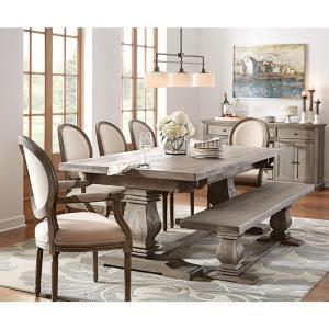 Swell Home Decorators Collection Aldridge Antique Grey Wood Dining Machost Co Dining Chair Design Ideas Machostcouk