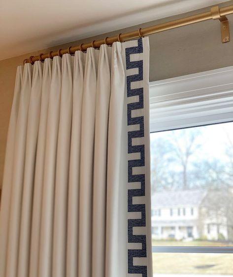 "Heavy Lined Curtains Navy Ribbed Velvet 113/"" Long  54/""W Huge Bay Window Bespoke"