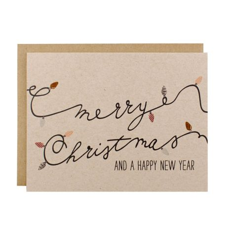 Christmas Cards – Christmas Card Set – Merry Christmas & A Happy New Year Card Pack -