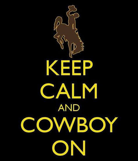 Officially Licensed Wyoming Cowboy Wine Tote//Bag Keep Calm and Cowboy On