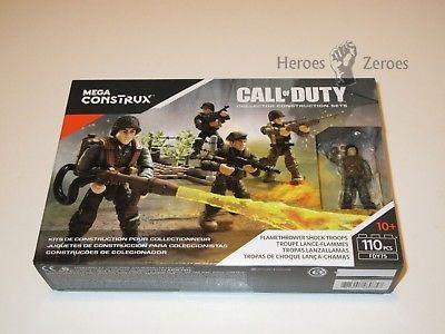 Call of Duty Mega WW2 German Medic /& Flamethrower Shock Troops Figures FDY75