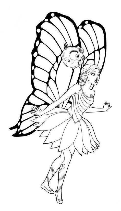 malvorlagen barbie wings  x13 ein bild zeichnen
