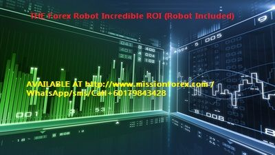 The Forex Robot Incredible Roi Robot Included Via Forex Mt5