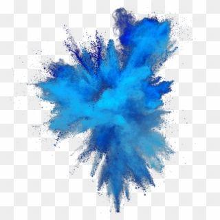Color Splash Burst Colorsplash Colorburst Smoke Blue Transparent Background Hd Png Unduh Color Splash Transparent Background Transparent