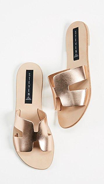 3de2f7c1b14 Greece Slides in 2019 | Wish List | Sandals, Steve madden slides, Shoes