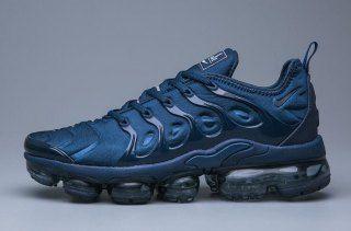 Nike Air VaporMax Plus TN Navy Blue Sneakers Men's Running Shoes ...