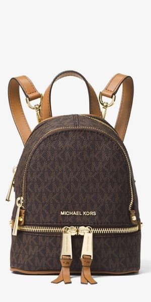 MICHAEL KORS Rhea Medium Logo Tape Backpack | Today's Fashion Item ...