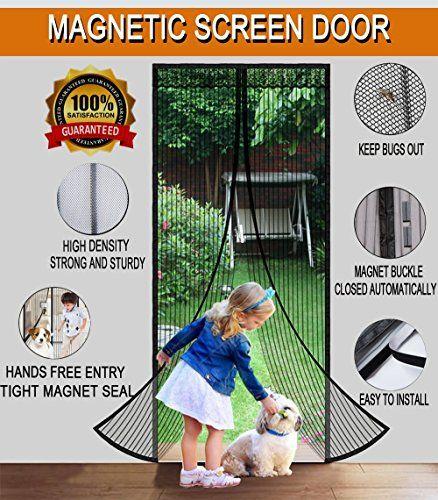 Deals Discounts You Can Snag On Amazon Now With Images Magnetic Screen Door Screen Door Hanging Screen Door