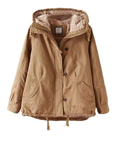BU2H Women Full Zip Loose Punk Plus Size Hoodie Hooded Sweatshirt Coat Jacket