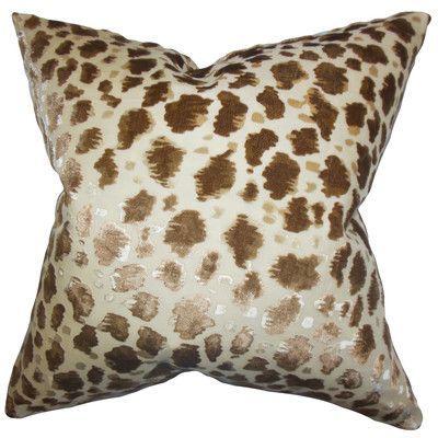 Animal Motif Luxury Throw Pillow