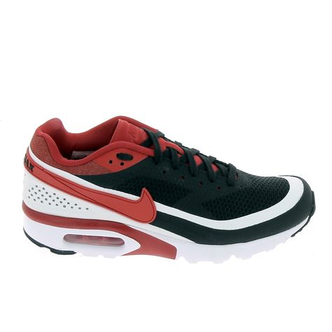NIKE Air Max Bw Ultra Noir Rouge | Nike Sneakers Homme ...