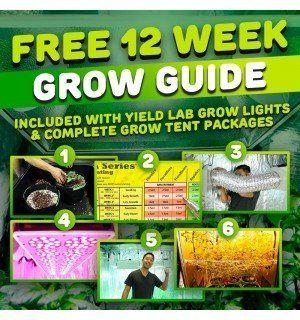Yield Lab 1000w Hps Cool Tube Hood Reflector Grow Light Kit In 2020 Grow Lights Growing Bulbs Grow Kit