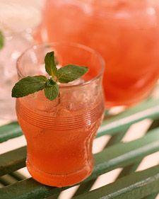 Rhubarb Ice Tea