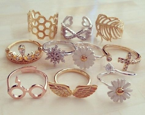 jewels gold golden rings ring silver rings gold jewelry swag ring hot girl thing