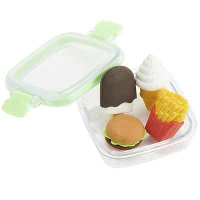 iwako japanese puzzle fast food eraser 6 pieces pack by iwako 5 09 fast food eraser eraser hamburger eraser made in japan iwako japanese puz
