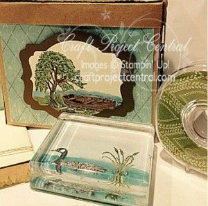 Masculine Gift Box & Desk Accessories by BuffyC - Cards and Paper Crafts at Splitcoaststampers flashback dsp