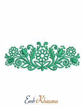 Beautiful border design also and corner embroidery rh pinterest