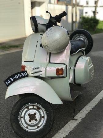 Bajaj Classic Scooter Motorcycle Sri Lanka Scooter