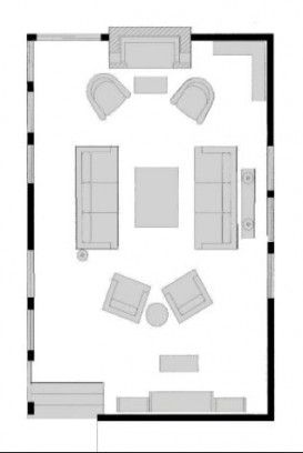 Living Room With Tv Layout Floor Plans 34 Ideas Living Room Floor Plans Family Room Layout Livingroom Layout