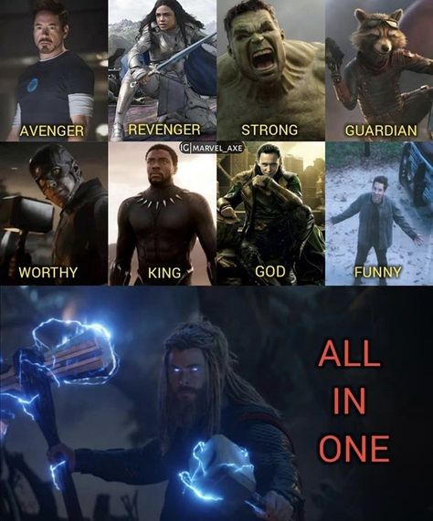 We love Thor 😊💓