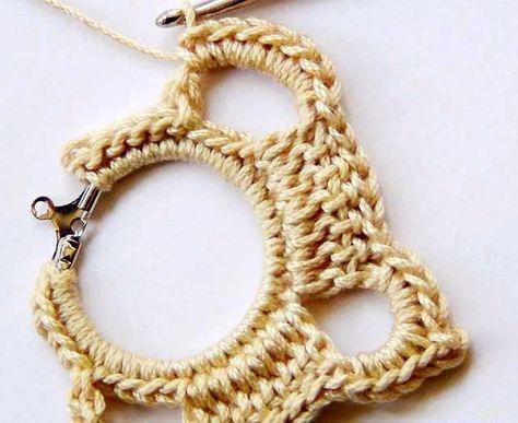 ec633f9afc1c tejidos artesanales en crochet  aros tejidos en crochet paso a paso