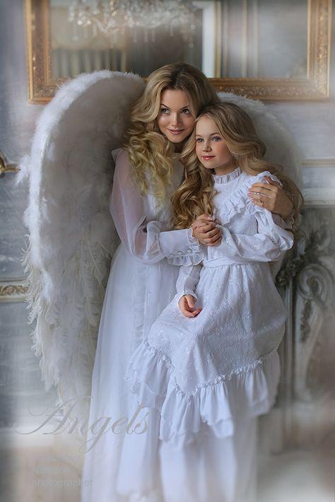"""Фотосессия """"Прикосновение Ангела"""""""