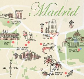 Spanien Madrid Guide Tipps Bellemelange Karte Madrid Guide