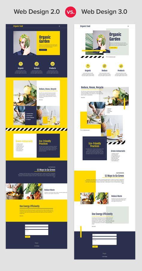 Web Design 2.0 vs. Web Design 3.0