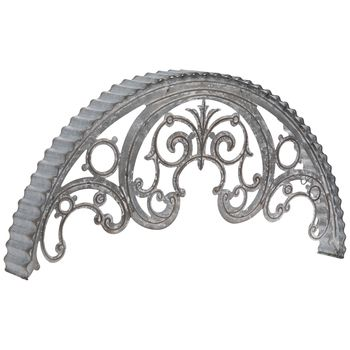 Scroll Arch Galvanized Metal Wall Decor Hobby Lobby 1806009 Corrugated Metal Wall Galvanized Metal Wall Metal Arch
