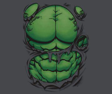 Hulk Ripping Shirt