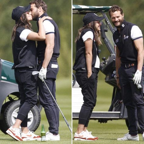AnthonyさんはInstagramを利用しています:「Jamie and Millie at the golf today #jamiedornan #ameliawarner #miketindallgolf #miketindallgolfclassic」