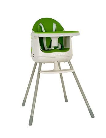 Keter 3 In 1 Multi Dine Convertible High Chair Booster Seat Junior Seat White Green Review Convertible High Chair High Chair Chair