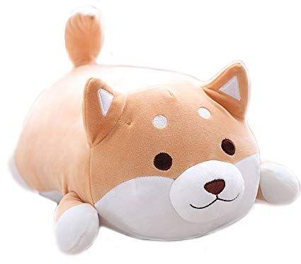 Marshmallow Shiba Inu Plush Google Search Corgi Stuffed Animal Animal Pillows Cute Plush