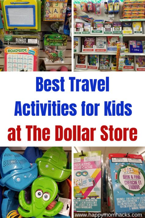 15 Best Travel Games for Kids at Dollar Tree | Happy Mom Hacks