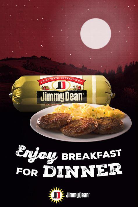 jimmy dean premium pork sausage enjoy it for breakfast or dinner 1