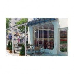 Veranda Cometa Decoration Exterieur Porte Coulissante Portes